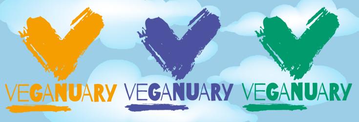 Veganuary Logo Banner