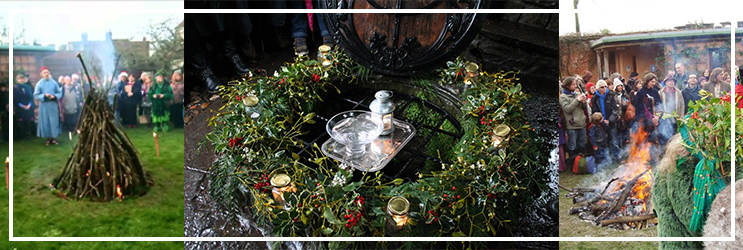Chalice Well - Winter Solstice Celebrations