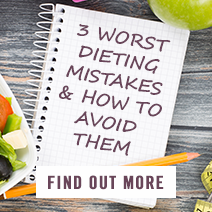 3 Worst Dieting Mistakes & How to avoid them