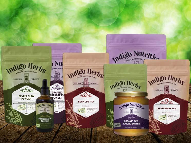 Indigo Herbs Product Range