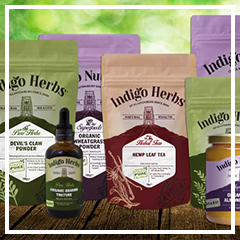 Indigo Herbs Brand New Look - Full Range
