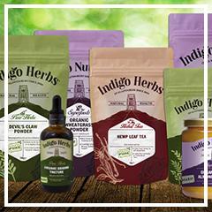 Indigo Herbs Brand New Look - Full Range