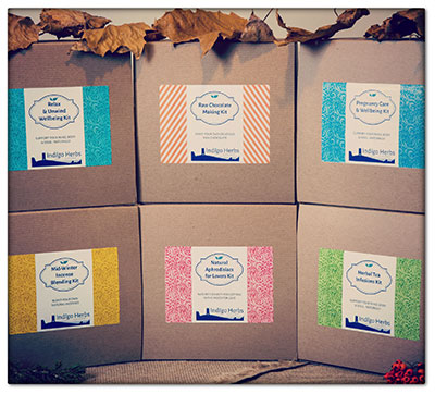Indigo Herbs Gift Set