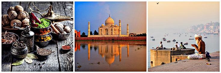 Indian Spices, Taj Mahal, Hindu Praying Ganges