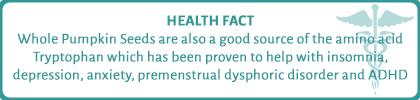 Health Fact about Pumpkin Seeds