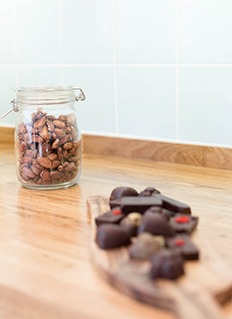 Raw Cacao Chocolate Beans