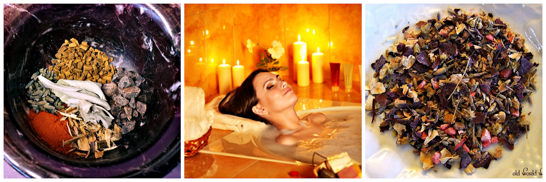 Incense, Aromatherapy Bath