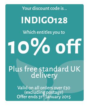 Discount Code INDIGO128