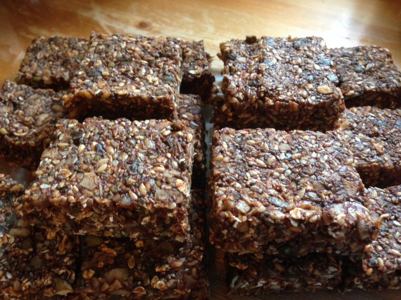 Kay's Pumpkin Packed Energy Bars Recipe