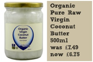 Organic Pure Raw Virgin Coconut Butter