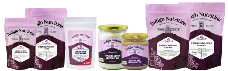 Vegan Products by Indigo Herbs