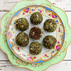 Pumpkin & Apricot Bliss Balls