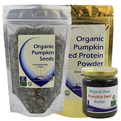 The Indigo Pumpkin Range - Seeds, Butter, Protein Powder
