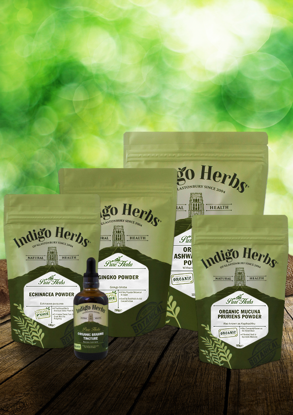 Indigo Pure Herbs Range