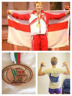 Indigo Herb Sponsored Athlete Sam Taylor wins bronze at the Taekwando World Championships