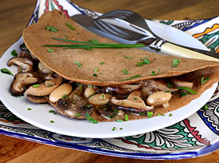 Walnut & Rosemary Crepes
