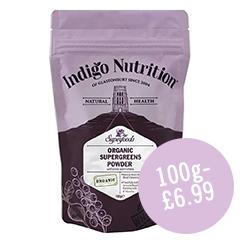Indigo Herbs - Super Greens Powder - 100g - £6.99