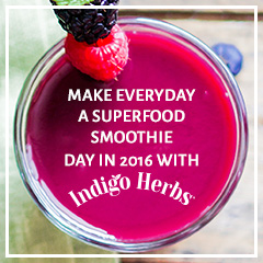 Everyday is a Superfood Smoothie Day in 2016