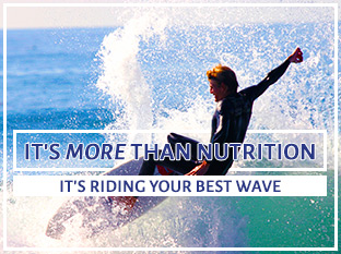 Its more than just nutrition, its riding your best wave
