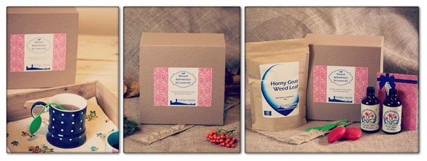 Natural Aphrodisiac for Lovers Gift Set