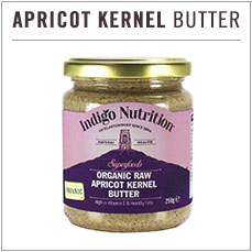 Organic Raw Apricot Kernel Butter