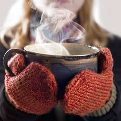 Baking cooking hot pot winter autumn gloves