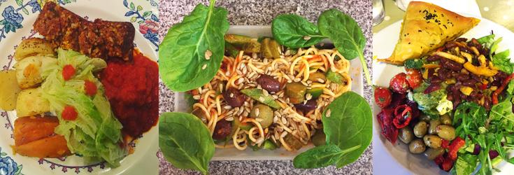 Elsie - Vegan Nut Roast, Spaghetti & Salad