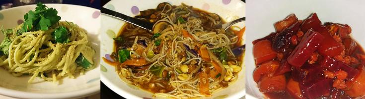 Tawny - Vegan Avocado Spaghetti, Noodles & Stew