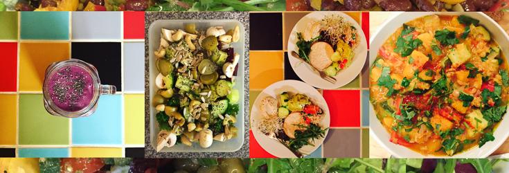 Smoothie, Salad, Snacks and Stew - Vegan