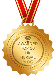 Top Ten Uk Herbal Blogs Badge