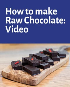 How to make Raw Chocolate Video