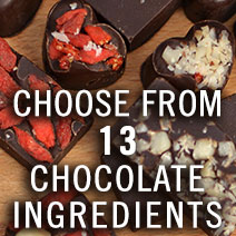 Choose from 13 Chocolate Ingredients
