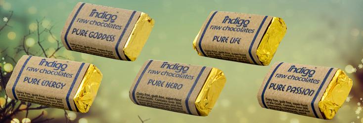 Indigo Herbs Pure Raw Chocolates