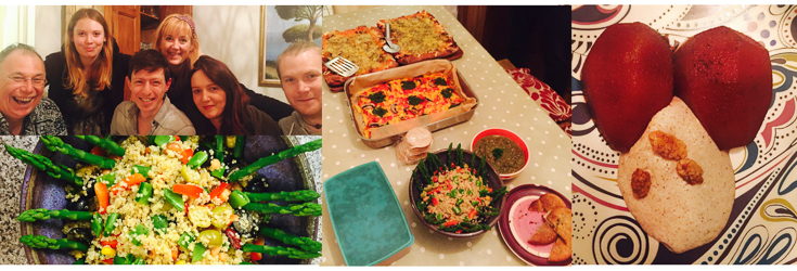Mediterranean Dinner Party - Indigo Herbs Try Vegan