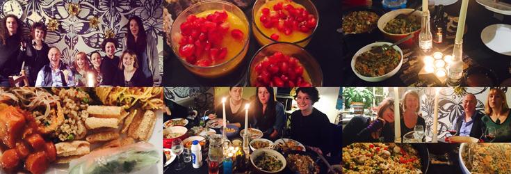 Vegan Dinner Party with Indigo Herbs Crew