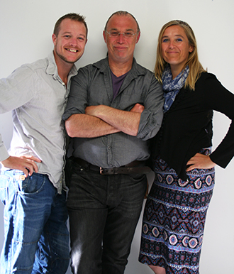 Michael, Steve and Claire - The Directors of Indigo Herbs