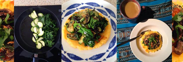 Polenta with Vegetables - Vegan