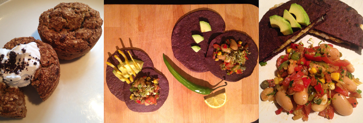 Faye Tries Vegan with Veganuary - Muffins & Tacos