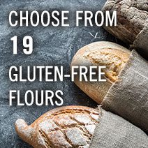 Choose from 19 Gluten-Free Flours