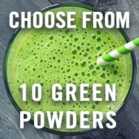 Choose from 10 Green Superfood Powders