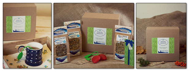 Indigo Herbal Tea Infusions Gift Set