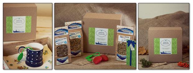 Indigo Herbal Tea Infusions Gift Set
