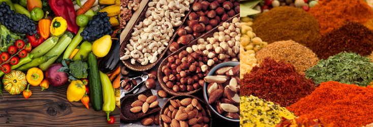 Try Vegan - Vegetables, Wholefoods, Superfoods and Spices