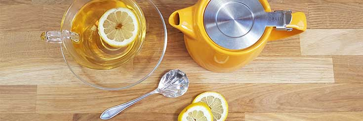 Ginkgo and Lemon Balm Loose Leaf Tea Recipe