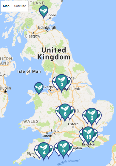 Stockists Map