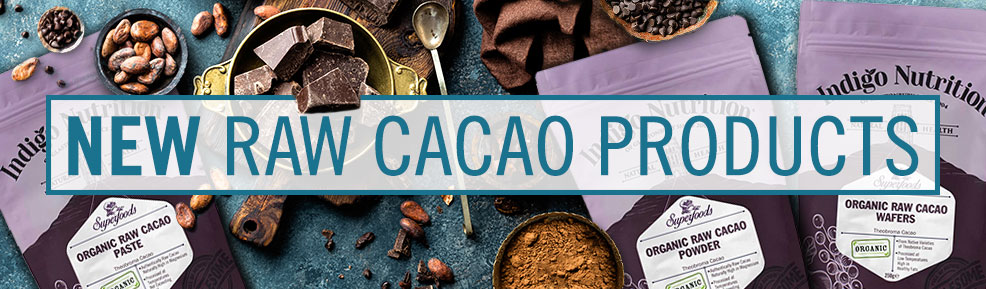 New raw cacao products