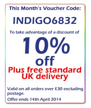 Indigo Herbs Monthly Discount Code