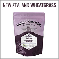 Organic New Zealand Wheatgrass