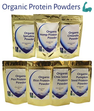 Organic Vegan Protein Powders