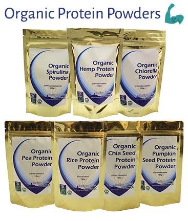 Organic Vegan Protein Powders